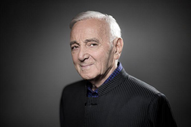 Charles Aznavour le 16 novembre 2017.