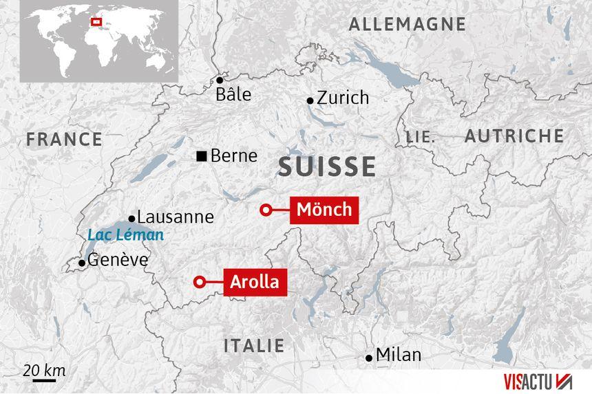 Les secteurs touchés par les accidents meurtriers en Suisse
