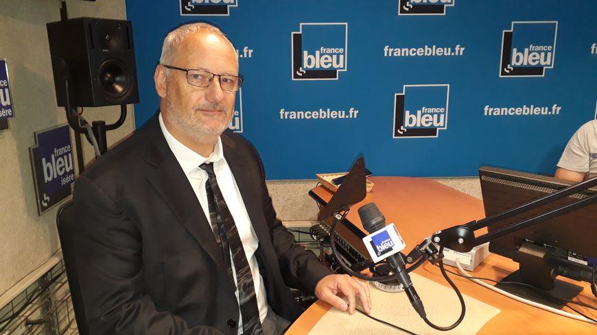 Philippe Tiersen est président de la Chambre des métiers et de l'artisanat de l'Isère.