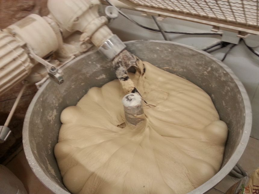 Préparation du pain