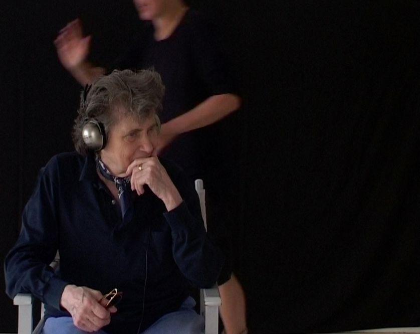 Nicole Stephane et Hélène Delprat dans l'atelier D'argenteuil - Image de film (2006)