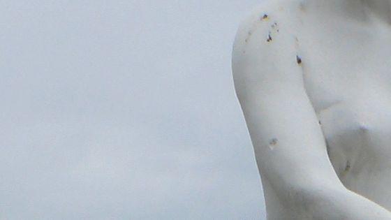 Statue détail