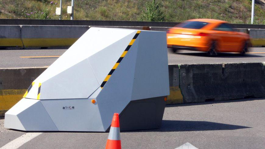 Un radar chantier sur autoroute (illustration)
