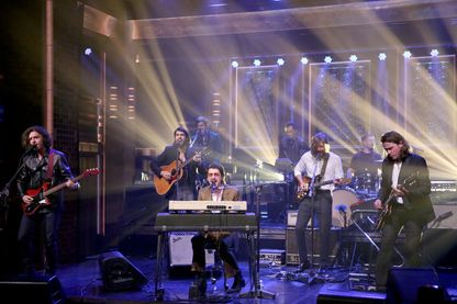 Les Artic Monkeys dans le Tonight Show with Jimmy Fallon sur NBC - 10 mai 2018