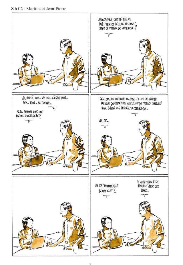 """Page 7 de """"Moins qu'hier (plus que demain)"""" de Fabcaro"""