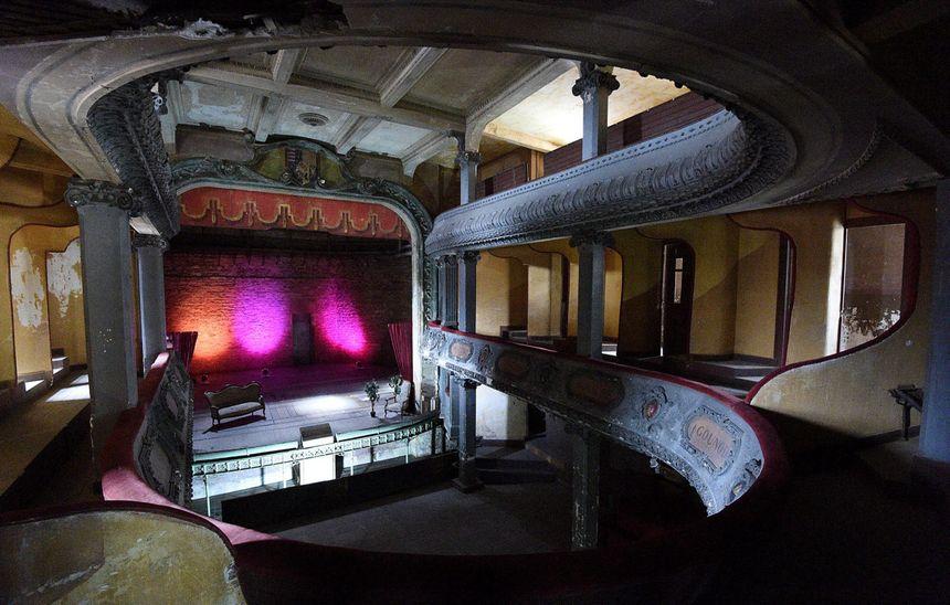 Le théâtre des Bleus, Bar-le-Duc (Meuse)