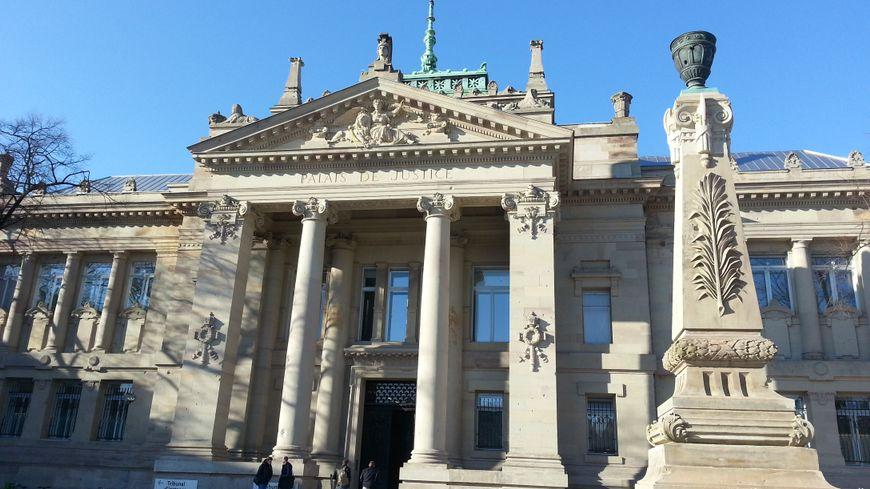 Le palais de justice de Strasbourg.