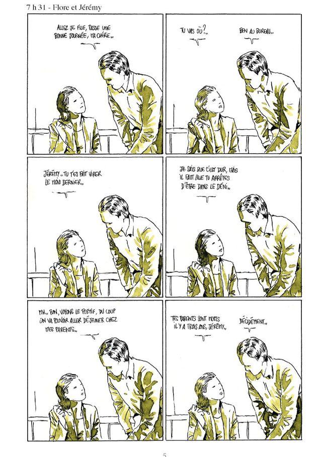 """Page 5 de """"Moins qu'hier (plus que demain)"""" de Fabcaro"""