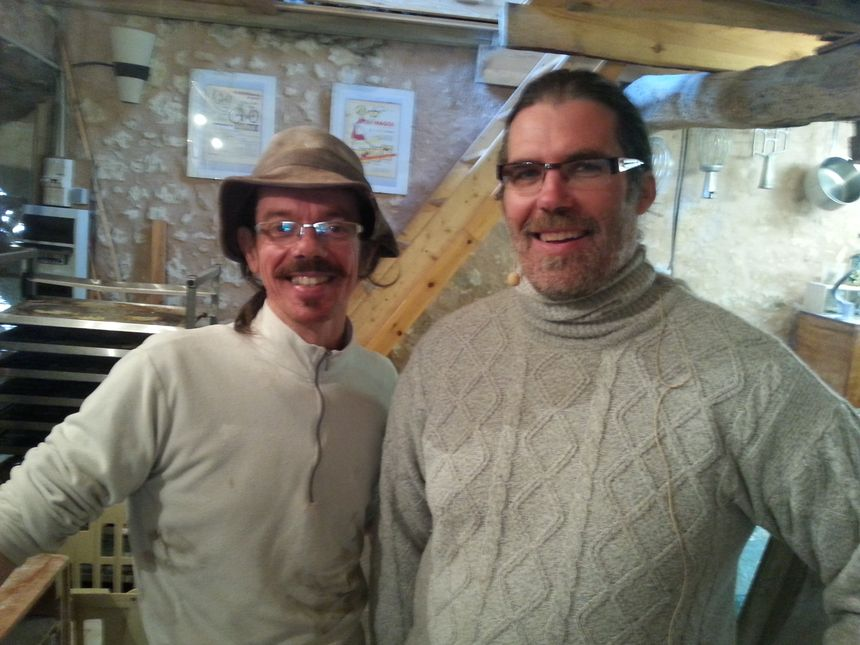 Le boulanger Patrick VINCHON et le Meunier Frédéric PRADEAU