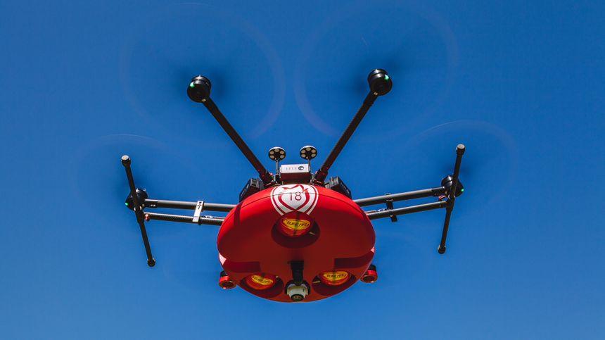 Le drone est actuellement testé dans les Bouches-du-Rhône.