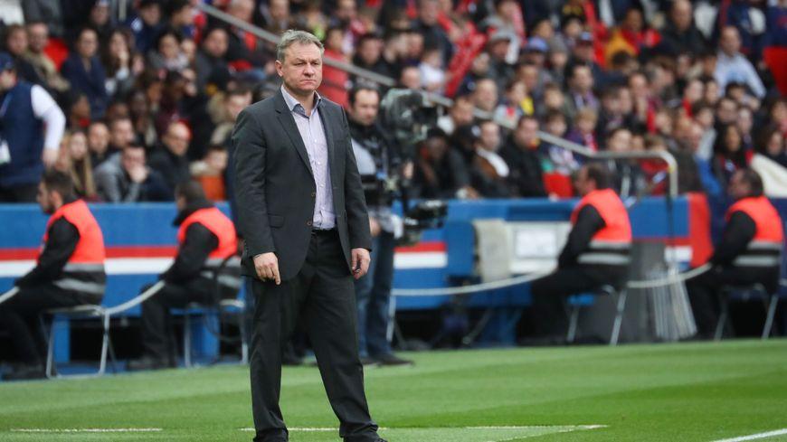 Frédéric Hantz n'a pas réussi à sauver la place du FC Metz en Ligue 1