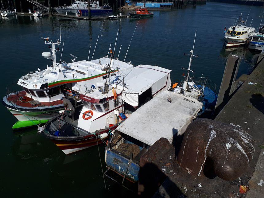 Sept fileyeurs ont arrêté leur activité l'année dernière, sur la Côte d'Opale. Les navires sont partis à la casse.