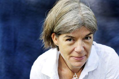 Claire Messud à la foire du livre America le 14 septembre 2014 à Vincennes (France)