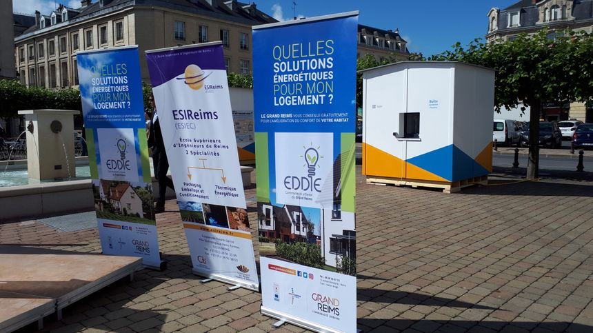 L'Icebox Challenge, un événement soutenu par le Grand Reims et sa plateforme de rénovation énergétique qui offre un accompagnement personnalisé et gratuit des projets de rénovation énergétique.