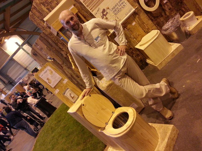 Les toilettes sèches écologiques fabriquées artisanalement dans l'Aude,  par l'entreprise l'écopot.