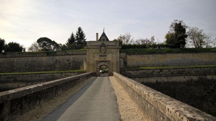 La citadelle de Blaye construite par Vauban