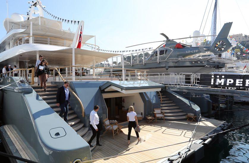 """Monaco, capitale du yachting le temps d'un """"show""""."""