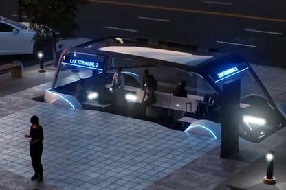 Avec le projet Loop, les voitures autonomes disparaîtront dans le sol pour rejoindre les autoroutes souterraines