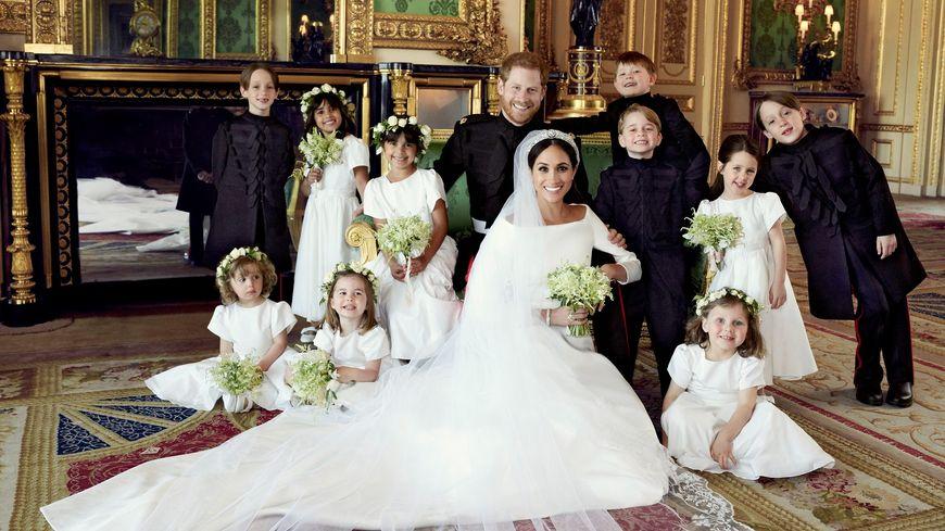 Robe blanche kate middleton mariage harry
