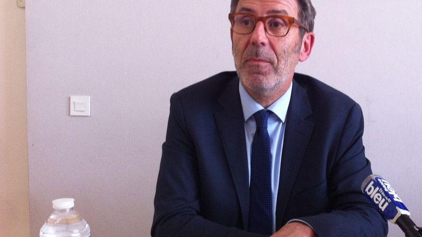 Le président de l'université de Nantes, Olivier Laboux