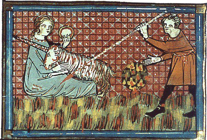 Le Bestiaire d'amour, la chasse à la licorne, de Richard de Fournival