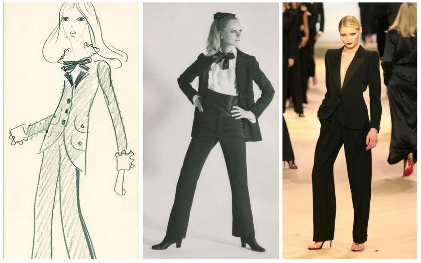 Yves Saint Laurent 6 Tenues Qui Ont Revolutionne La Mode