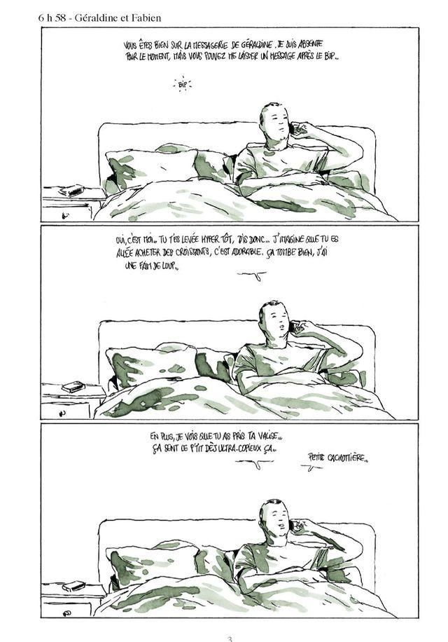 Page 3 de Moins qu'hier (plus que demain) de Fabcaro
