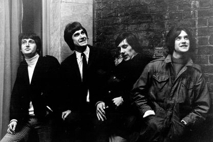 The Kinks à Londres en 1966.