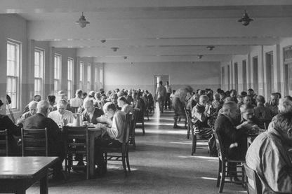 Asile dans les années 1940 aux Etats-Unis