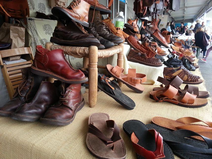Des chaussures et des sacs en cuir en tannage végétal