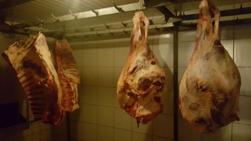 Boeuf, porc, veau, tous les produits sont confectionnés sur place.
