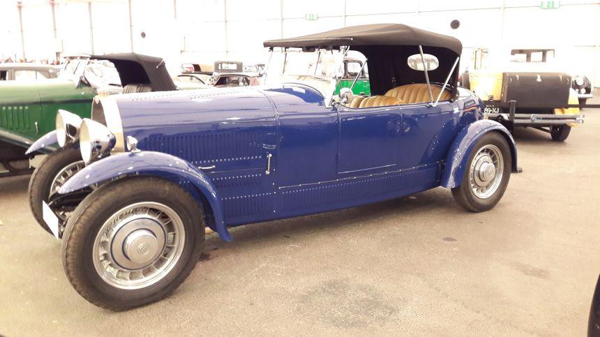 Bugatti type 49, à Strasbourg le 1er mai 2018 - Radio France