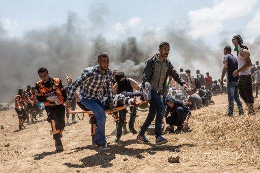 Bain de sang, hier, à Gaza