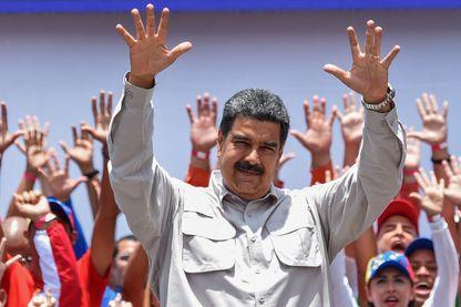 Nicolas Maduro en campagne pour sa réélection