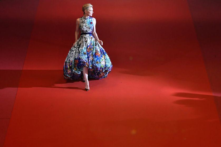 Cate Blanchett à la 71ème édition du festival de Cannes en mai 2018