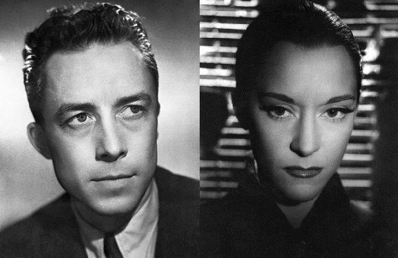 Albert Camus et Maria Casarès