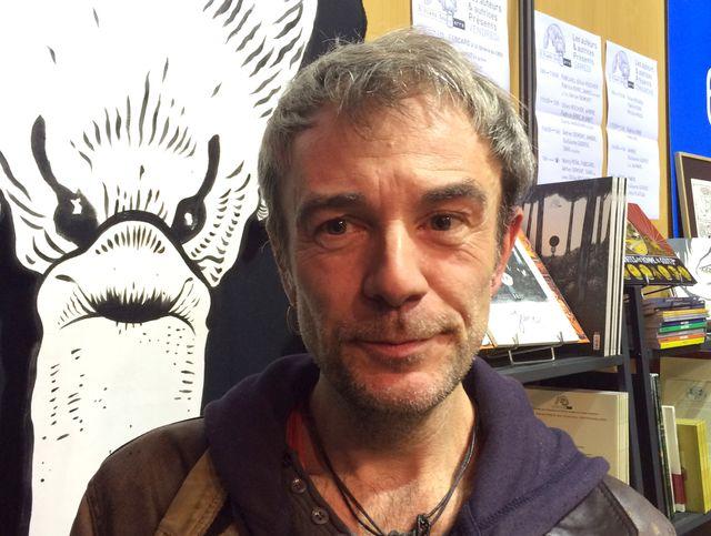 Fabcaro à Angoulême en 2016