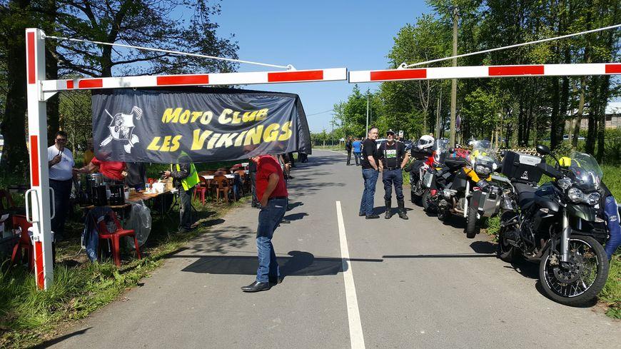 Une petite cinquantaine de motards s'est rassemblée samedi à Sainte-Marie-des-Champs près d'Yvetot