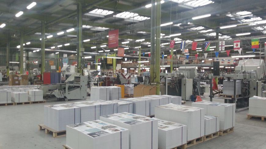Dans les ateliers de Bresson sont imprimées des commandes du monde entier