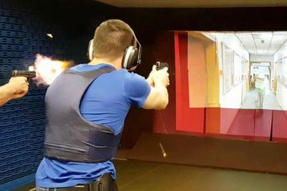 """Un entraînement au tir """"vidéo assisté"""" avec EVA"""