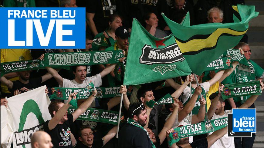 Le Limoges CSP affronte l'Asvel deva,t ses supporters dimanche à Beaublanc et en direct sur France Bleu Limousin