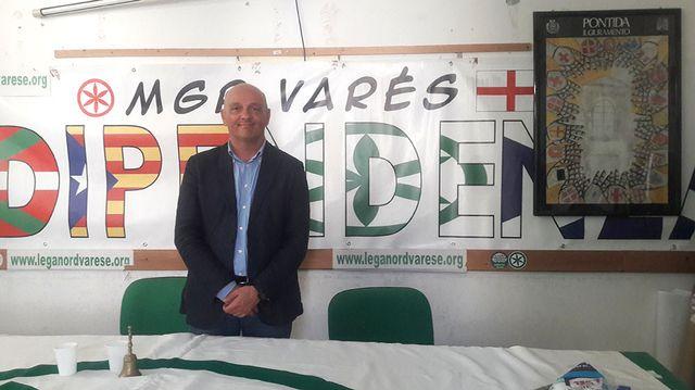 A. Gambini, responsable local de la Ligue à Varese