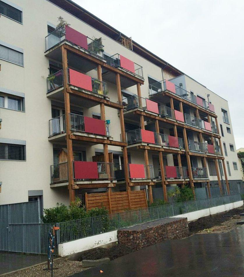 Le Village vertical , coopérative d'habitants à Villeurbanne, près de Lyon.