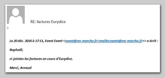 Reconstitution du mail envoyé par Arnaud Jolens à Raphaël Coulhon