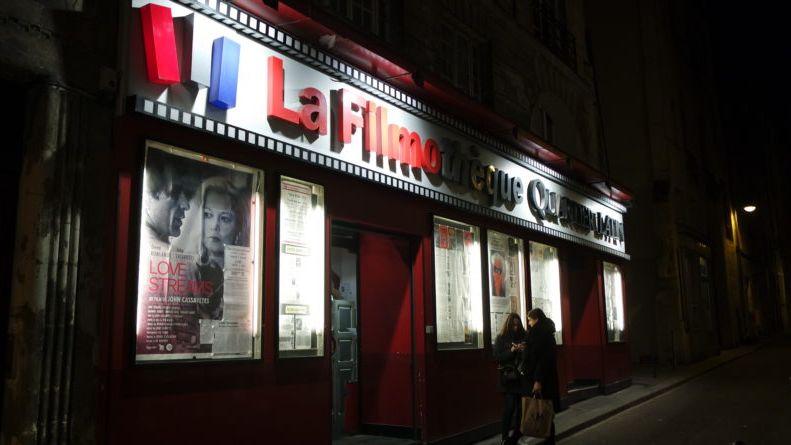 La Filmothèque de nuit, 9 rue Champollion, Paris 5e arr.