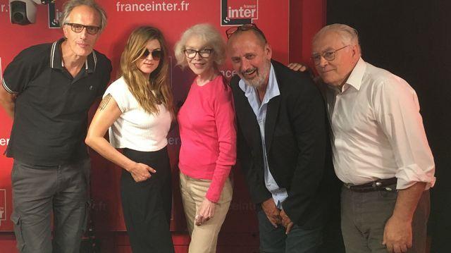 """Vous Les Femmes"", de gauche à droite : Hervé Pauchon, Melody Gardot, BAMBI, Daniel Morin, Albert Algoud"
