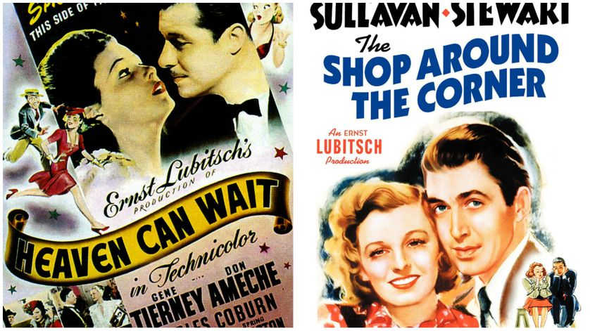 "Affiches films ""Heaven can wait"" & ""The shop around the corner"""