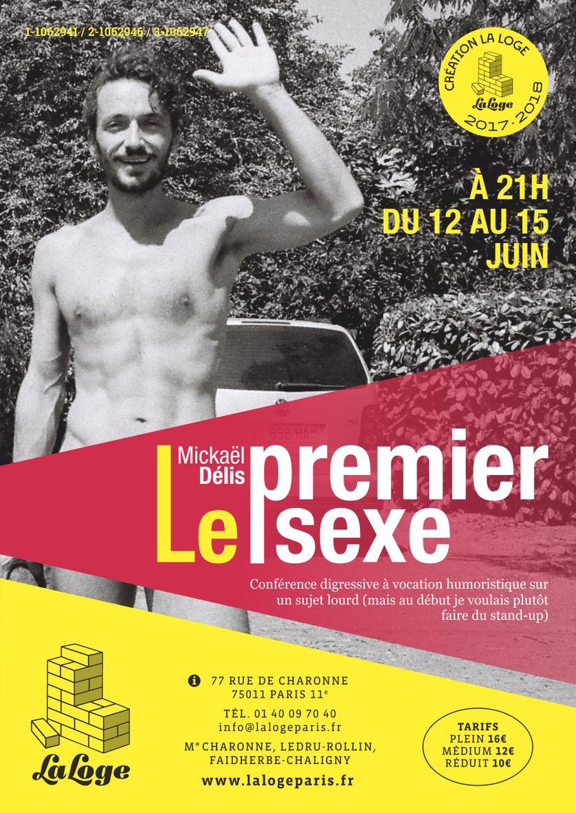 """""""Le premier sexe"""" sera crée le 12 juin à La Loge (Paris)"""