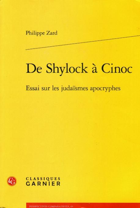 De Shylock à Cinoc