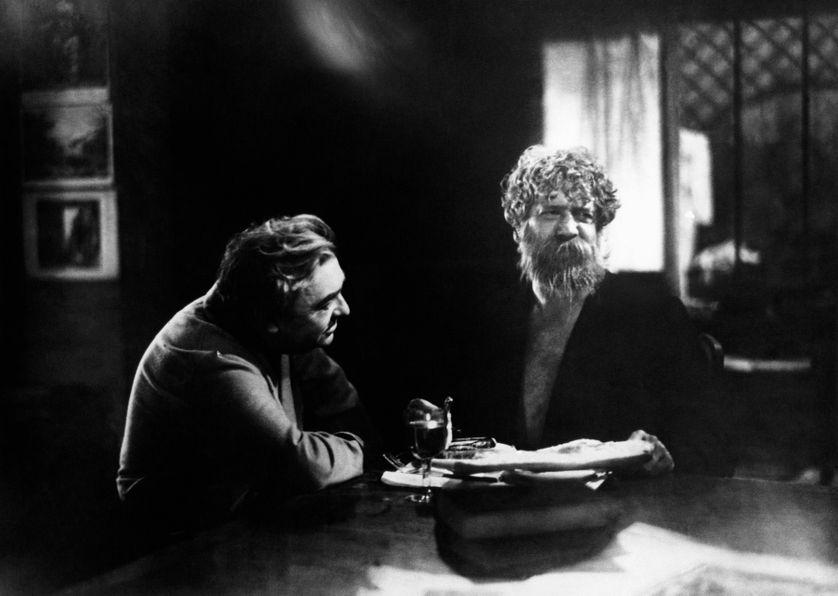 """Charles Granval et Michel Simon dans """"Boudu sauvé des eaux"""" (1932)"""